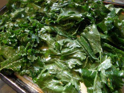 Kale Crisps Un baked