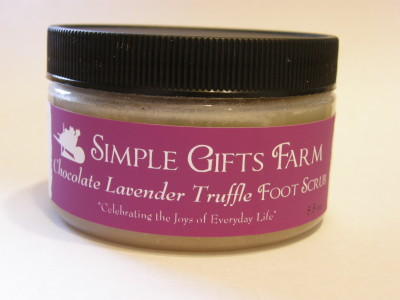 Chocolate Lavender Truffle Foot Scrub 2
